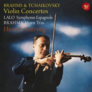 シェリング/ブラームス&チャイコフスキー:ヴァイオリン協奏曲、ラロ:スペイン交響曲他