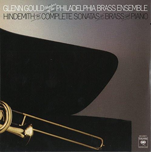 グールド/ヒンデミット:金管とピアノのためのソナタ集(全5曲)