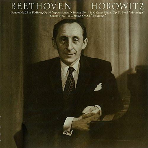 ホロヴィッツ/ベートーヴェン:ピアノ・ソナタ第23番「熱情」・第14番「月光」・第21番「ワルトシュタイン」