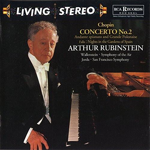 ルービンシュタイン/ショパン:ピアノ協奏曲第2番&アンダンテ・スピアナートと華麗なるポロネーズ(1958年録音)