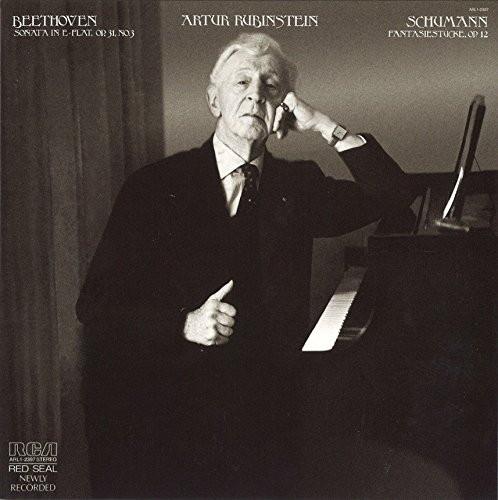 ルービンシュタイン/ベートーヴェン:ピアノ・ソナタ第18番&シューマン:幻想小曲集