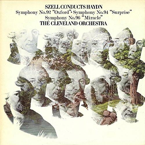 セル/ハイドン:交響曲第92番「オックスフォード」、第94番「驚愕」&第96番「奇蹟」