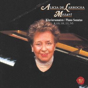 ラローチャ/モーツァルト:ピアノ・ソナタ第8番、第10番、第11番「トルコ行進曲付き」&第15番