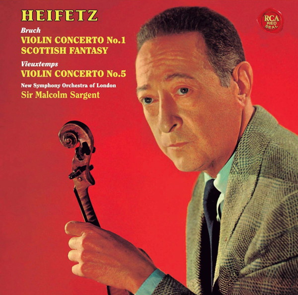 ハイフェッツ/ブルッフ:ヴァイオリン協奏曲第1番&スコットランド幻想曲