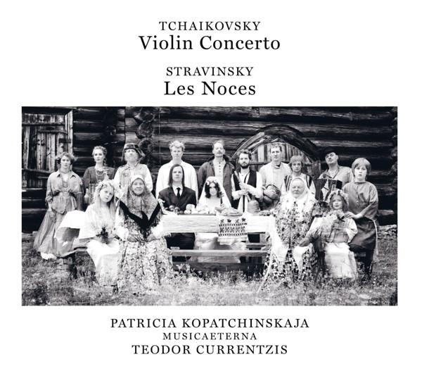 クルレンツィス/チャイコフスキー:ヴァイオリン協奏曲/ストラヴィンスキー:バレエ・カンタータ「結婚」