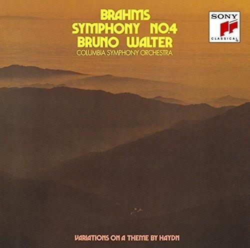 ワルター/ブラームス:交響曲第4番&ハイドンの主題による変奏曲