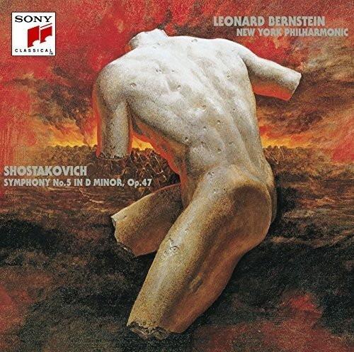 バーンスタイン/ショスタコーヴィチ:交響曲第5番&チェロ協奏曲第1番