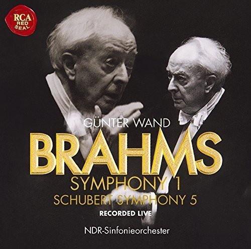ヴァント/ブラームス:交響曲第1番/シューベルト:交響曲第5番