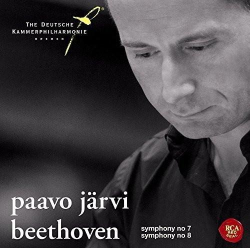 ヤルヴィ(パーヴォ)/ベートーヴェン:交響曲第7番&第8番