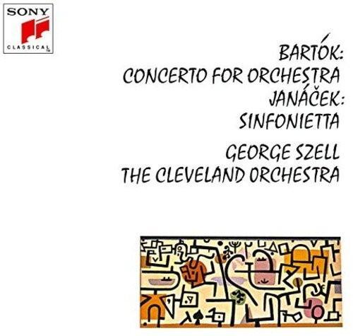 セル/バルトーク:オーケストラのための協奏曲/ヤナーチェク:シンフォニエッタ