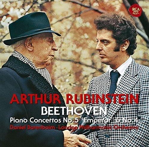ルービンシュタイン/ベートーヴェン:ピアノ協奏曲第4番&第5番「皇帝」