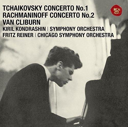 クライバーン/チャイコフスキー:ピアノ協奏曲第1番/ラフマニノフ:ピアノ協奏曲第2番