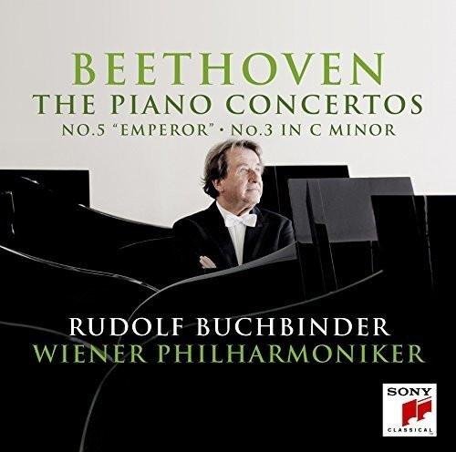 ブッフビンダー/ベートーヴェン:ピアノ協奏曲第3番&第5番「皇帝」