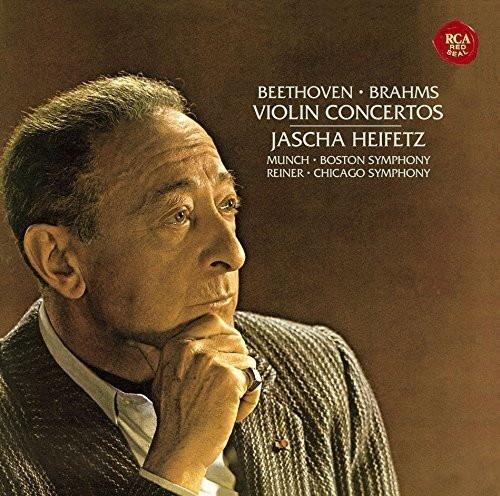 ハイフェッツ/ベートーヴェン&ブラームス:ヴァイオリン協奏曲