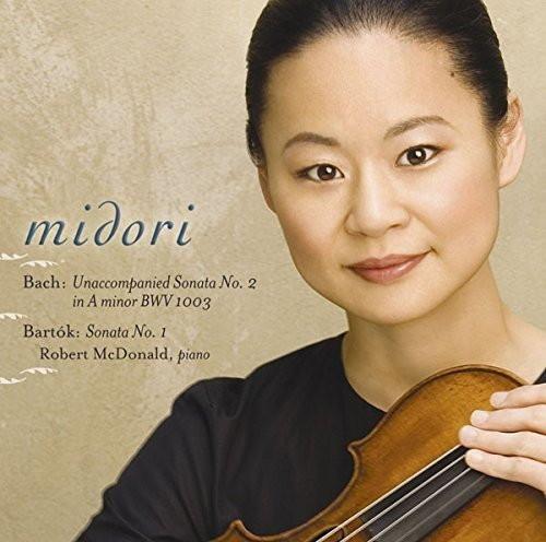 五嶋みどり/バッハ:無伴奏ヴァイオリン・ソナタ第2番/バルトーク:ヴァイオリン・ソナタ第1番