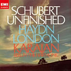 【クリックでお店のこの商品のページへ】カラヤン/シューベルト:交響曲第8番 ハイドン:ロンドン