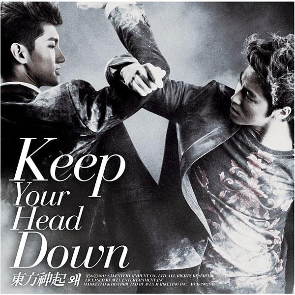 東方神起/ウェ(Keep Your Head Down)日本ライセンス盤(DVD付)