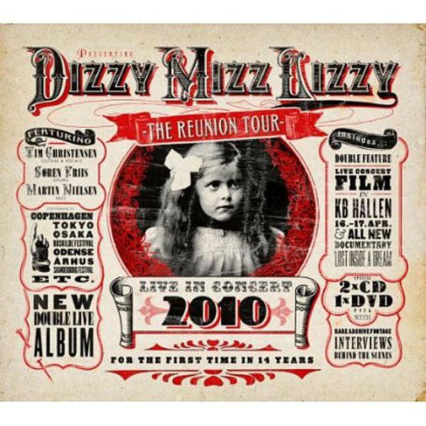 ディジー・ミズ・リジー/ライヴ・イン・コンサート2010〜リユニオン・ツアー(DVD付)