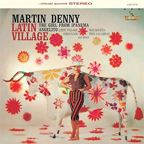 マーティン・デニー/ラテン・ヴィレッジ(ステレオ+モノ)+3