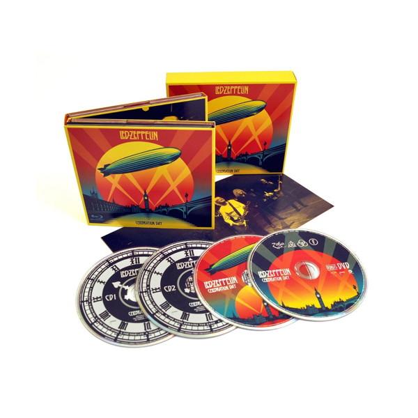 レッド・ツェッペリン/祭典の日(奇跡のライヴ) デラックス・エディション(BD+DVD付)