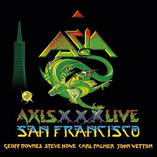 エイジア/エイジア・ライヴ・イン・サンフランシスコ2012- ジョン・ウェットン カール・パーマー ジェフ・ダウンズ スティーヴ・ハウ- オリジナル・エイジア30周年&最後のツアー