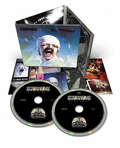 スコーピオンズ/蠍魔宮〜ブラックアウト(デラックス・エディション)(DVD付)