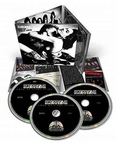 スコーピオンズ/禁断の刺青〜ラヴ・アット・ファースト・スティング(デラックス・エディション)(DVD付)