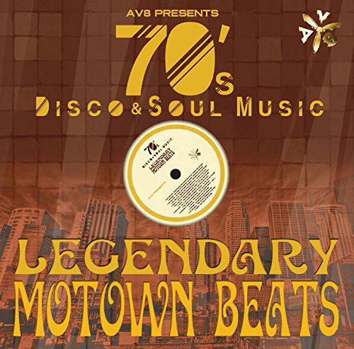 DJ OGGY/Legendary MoTown Beats by AV8 〜70's Disco & Soul Music〜