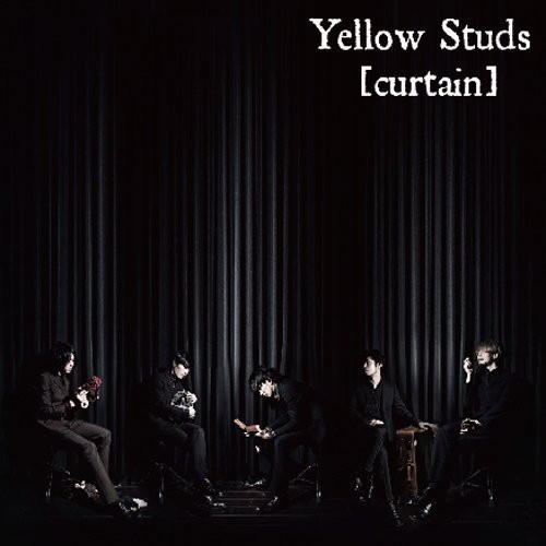 Yellow Studs/curtain