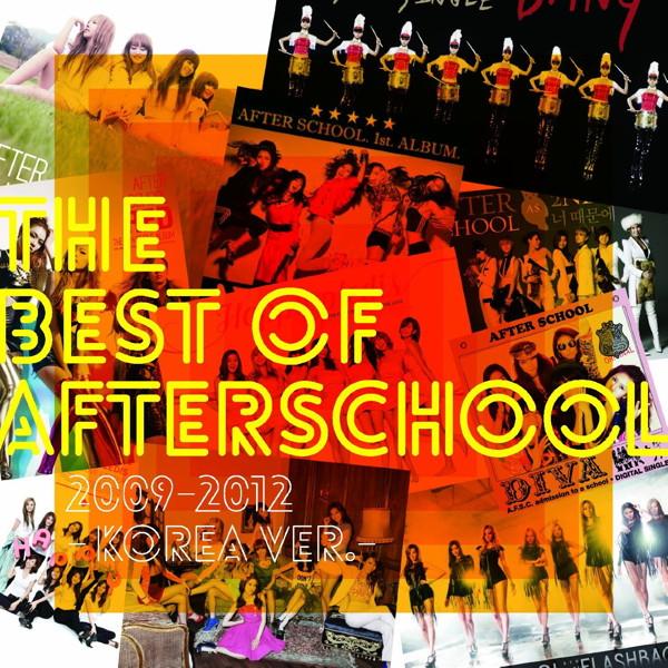 AFTERSCHOOL/AFTERSCHOOL KOREA BEST(初回限定盤)(DVD付)