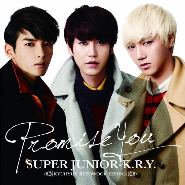 SUPER JUNIOR-K.R.Y./Promise You(DVD付)