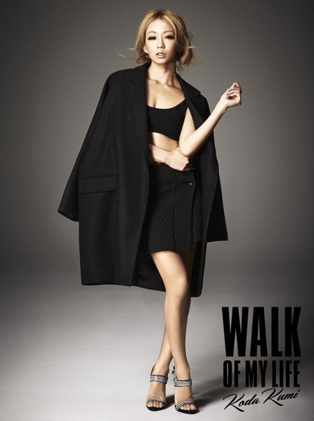 倖田來未/WALK OF MY LIFE(Blu-ray Disc付)
