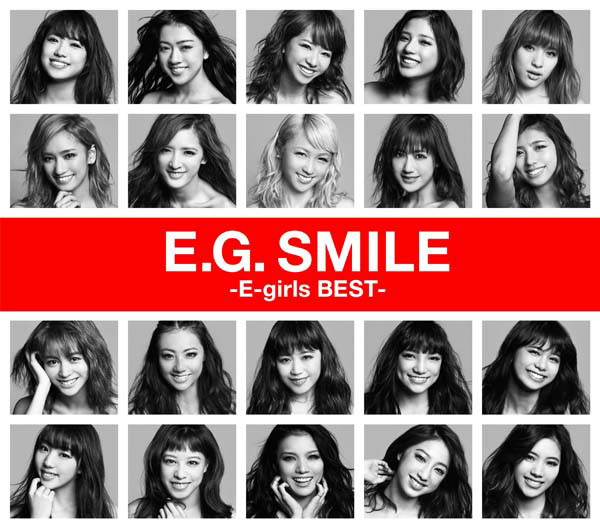 E-girls/E.G. SMILE-E-girls BEST-(2CD+1DVD)