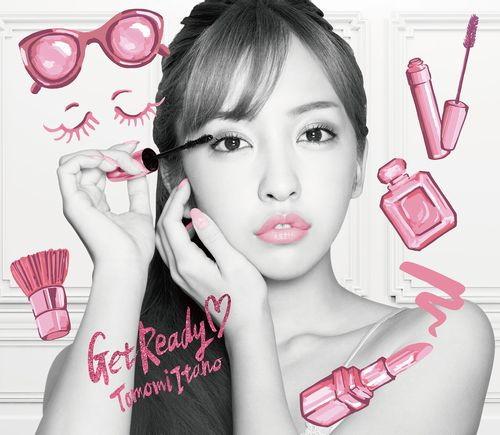 板野友美/2nd ALBUM「Get Ready(ハート)」(初回限定盤)(TYPE-B)(CD+PHOTOBOOK)