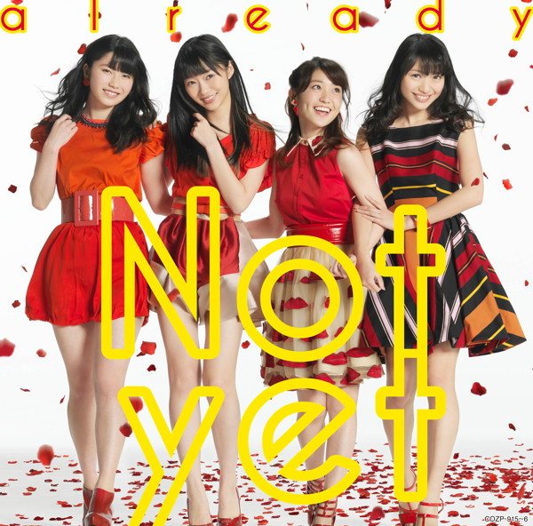 Not yet/already(通常盤Type-A)(DVD付)