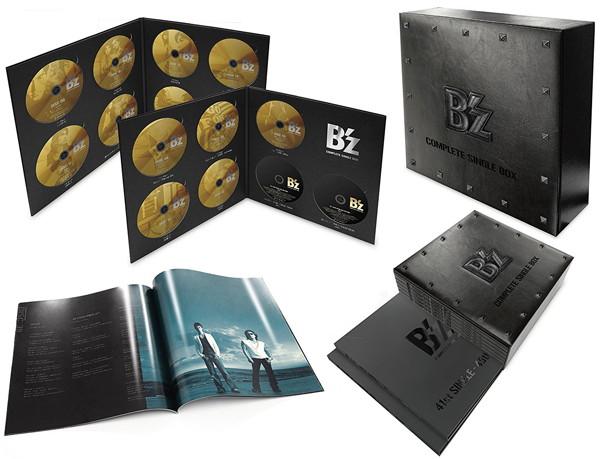 B'z/B'z COMPLETE SINGLE BOX【Black Edition】(2DVD付)