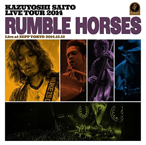 斉藤和義/KAZUYOSHI SAITO LIVE TOUR 2014'Rumble Horses'Live at ZEPP TOKYO 2014.12.12