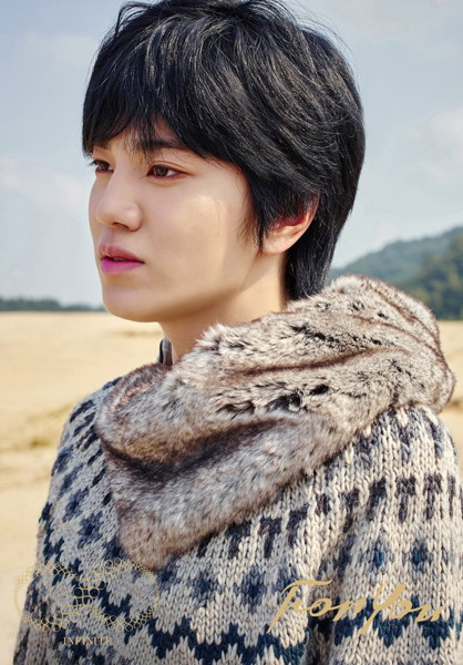 INFINITE/For You(初回限定盤 クリアファイル・ジャケット(Sung Jong))