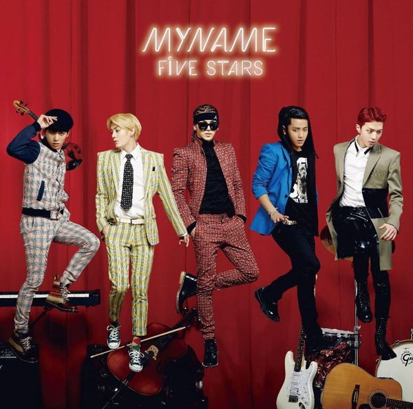 MYNAME/FIVE STARS(初回限定盤)(DVD付)