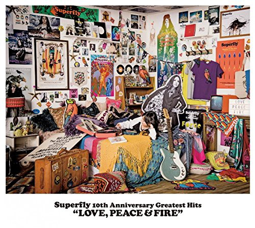 Superfly/Superfly 10th Anniversary Greatest Hits『LOVE,PEACE&FIRE』(通常盤)