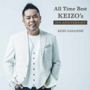 中西圭三/All Time Best〜KEIZO's 25th Anniversary(初回限定盤)(DVD付)