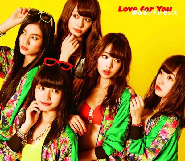 夢みるアドレセンス/Love for You(初回生産限定盤A)(DVD付)