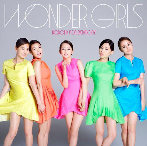 Wonder Girls/Nobody For Everybody(初回生産限定盤B)(DVD付)