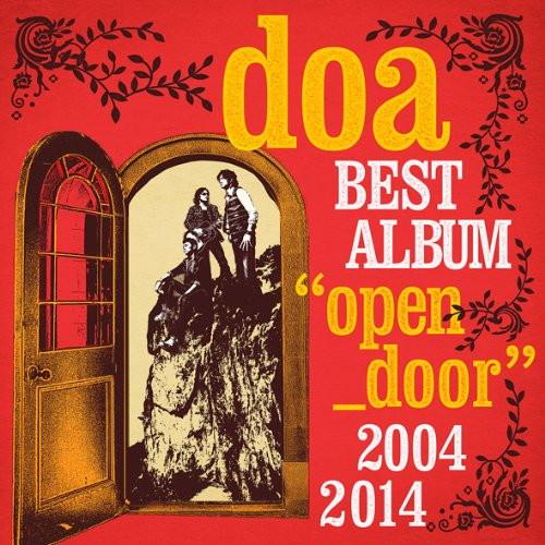 doa/doa BEST ALBUM'open door'2004-2014(初回限定盤)(DVD付)
