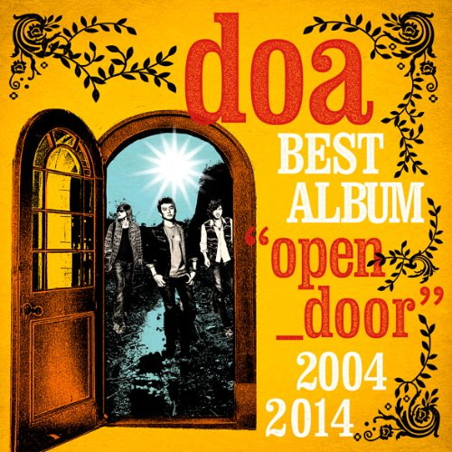 doa/doa BEST ALBUM'open door'2004-2014