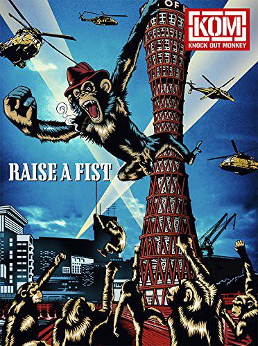 KNOCK OUT MONKEY/RAISE A FIST[CD+2DVD盤](2DVD付)