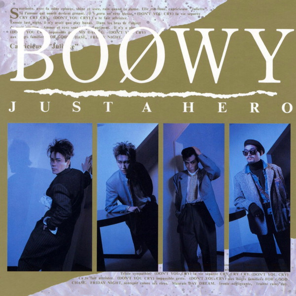 BOφWY(ボウイ)/JUST A HERO