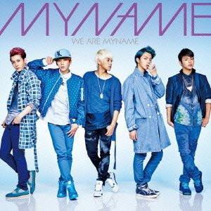 MYNAME/WE ARE MYNAME(通常盤)