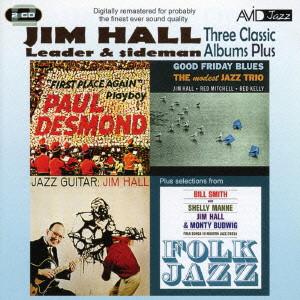 ジム・ホール/HALL- THREE CLASSIC ALBUMS PLUS