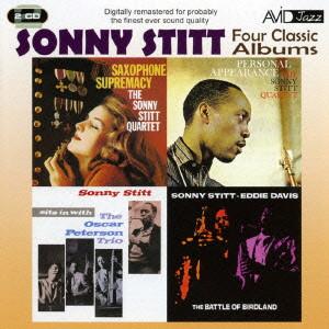 ソニー・スティット/STITT- FOUR CLASSIC ALBUMS